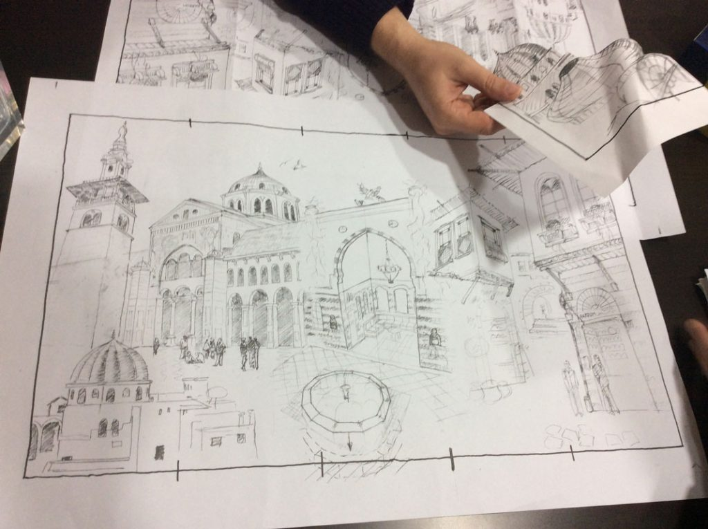 first-sketches